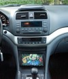 Custom fabricated radio dash kit TSX