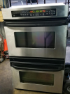 GE  Stainless Steel  Double Wall Oven $750