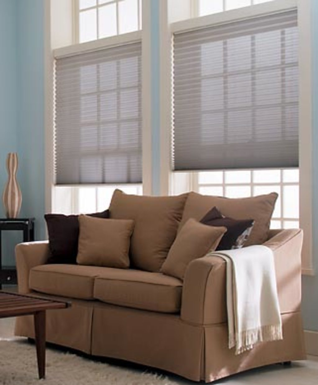 Payless Verticals & Blinds - Roman Shades