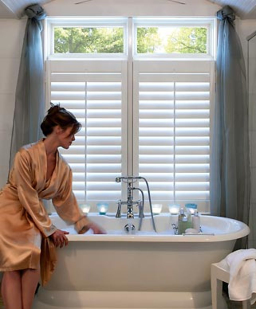 Payless Verticals & Blinds - Shutters in Bathroom