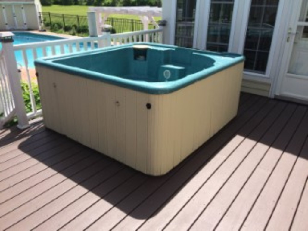 JDog Junk Removal & Hauling LLC - Hot Tub Removal 1