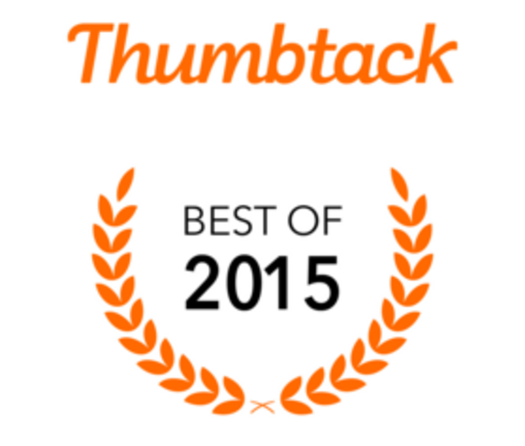 Thumbtack best of 2015 award for Andy OnCall