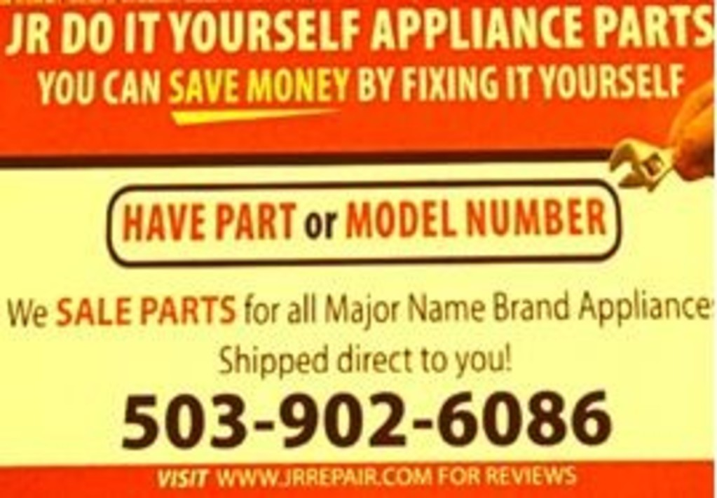 JR Repairs & Installs - Appliance Parts