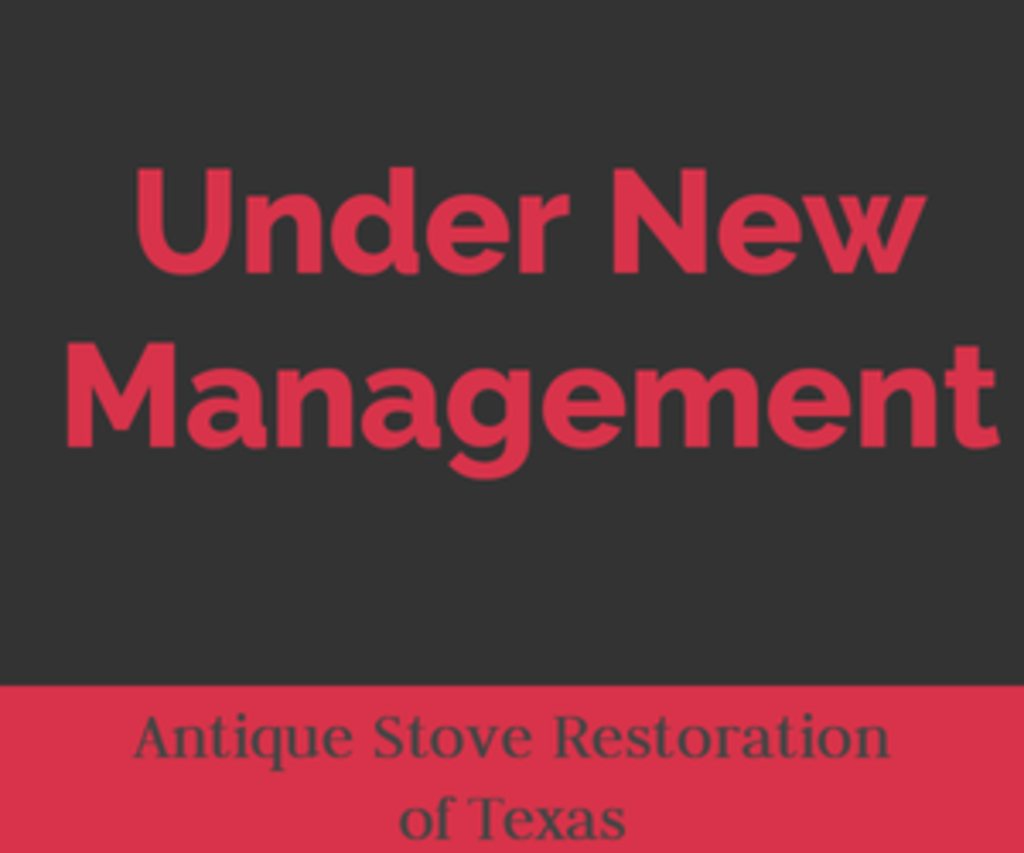 Antique Stove Restoration of Texas - Under New Management