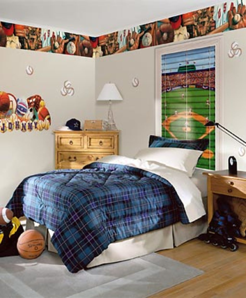 Castle Wallpaper & Blinds - Wallpaper in Kids' Room