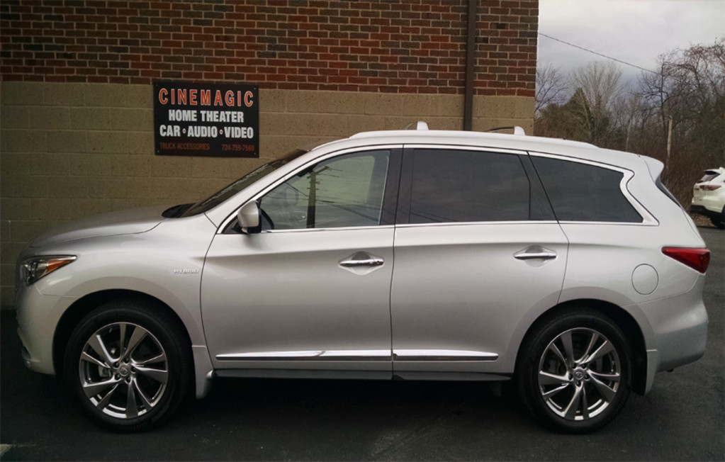 Cinemagic Automotive Electronics - Silver SUV