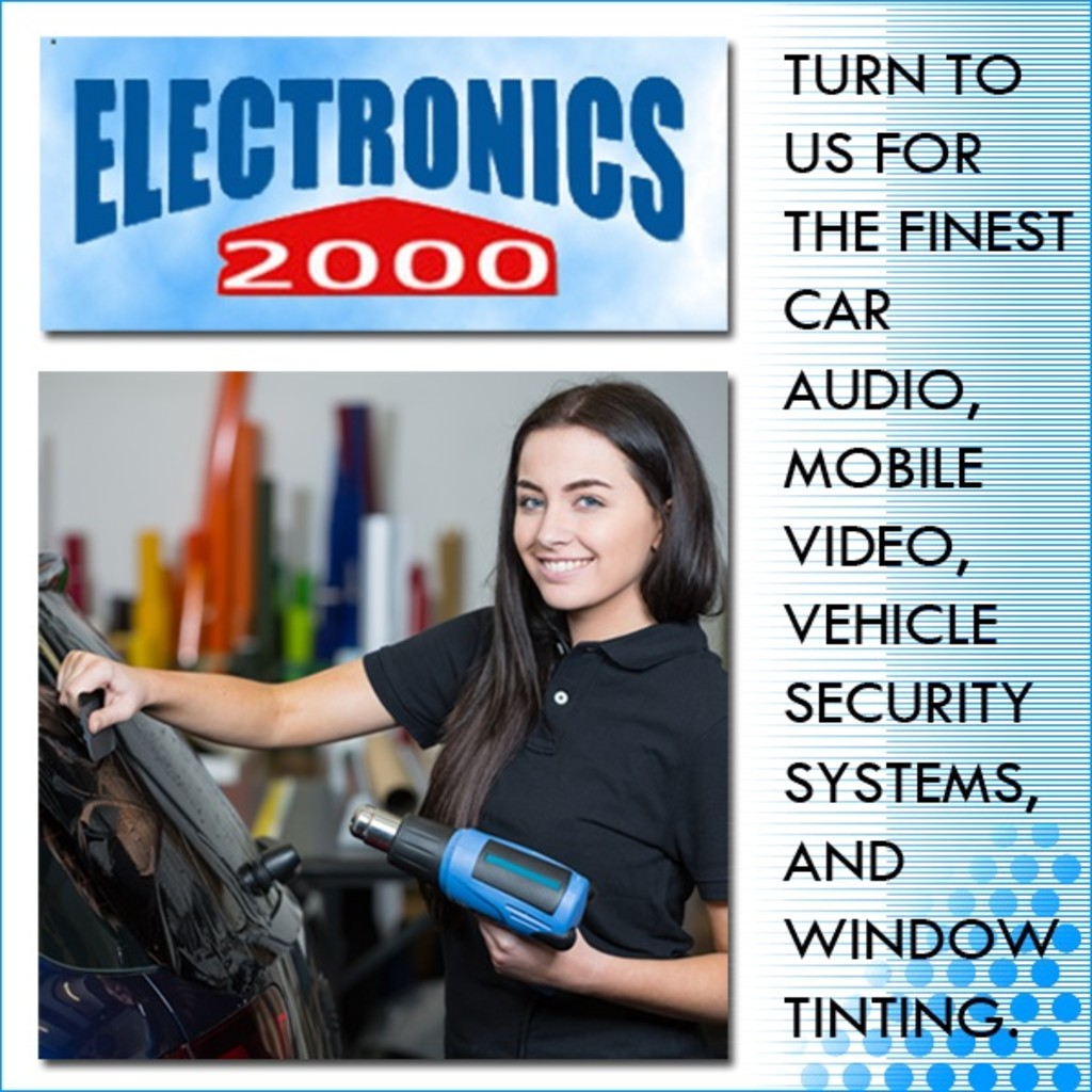 Electronics 2000 - Logo, Representative, and Description