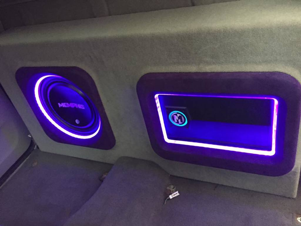 Custom Sights & Sounds - Speakers with LED