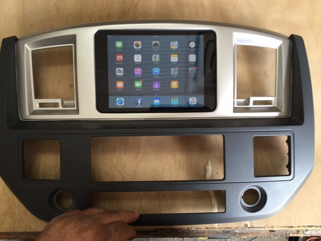 Custom Sights & Sounds - Installing iPad Dock