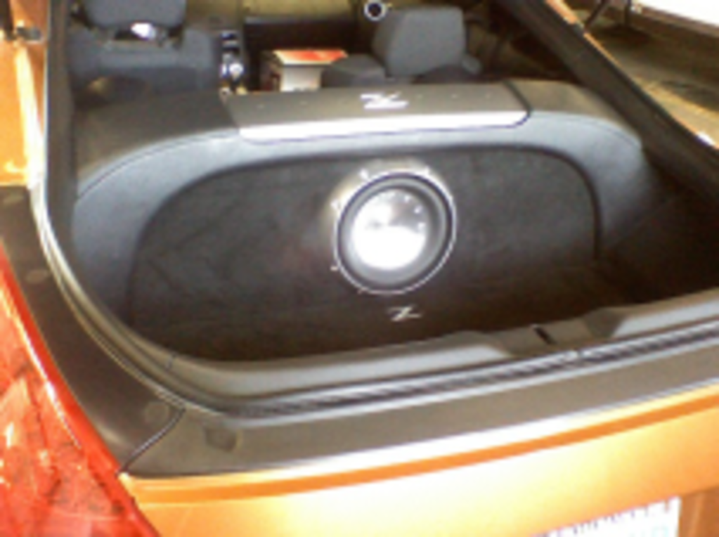 Audio Extremist - Trunk Speaker