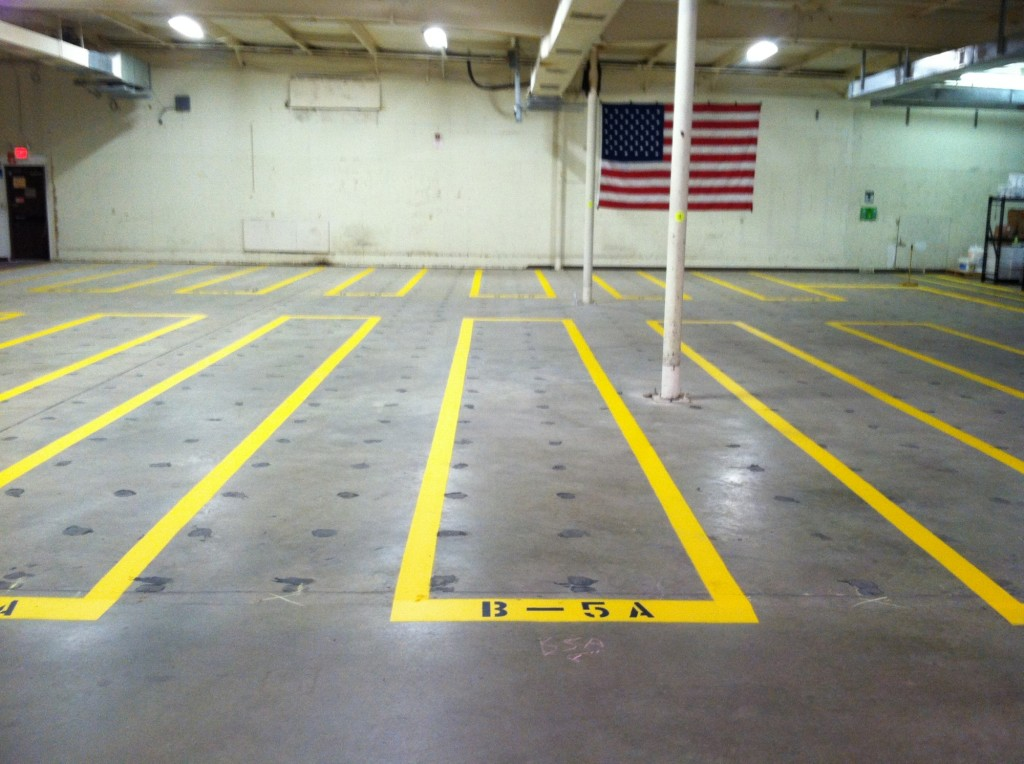 Consider It Done Striping, LLC - Inside Parking Lot