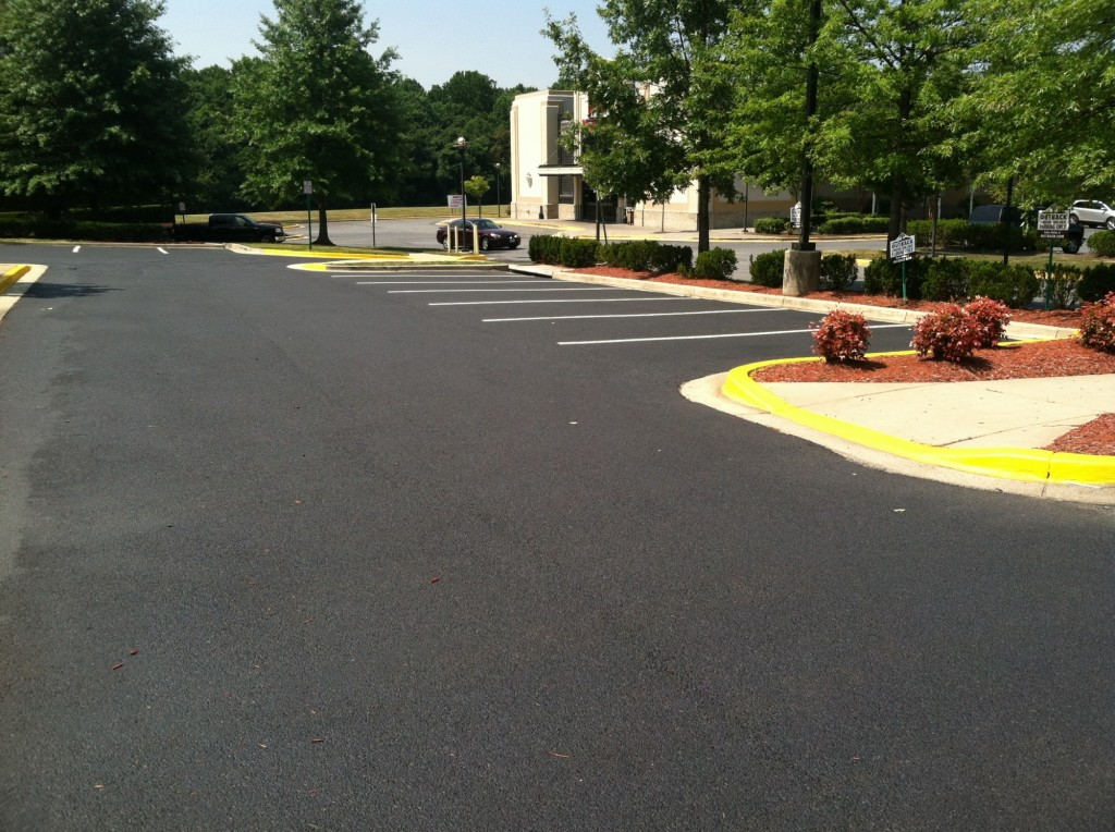 Consider It Done Striping, LLC - Recently Coated Asphalt
