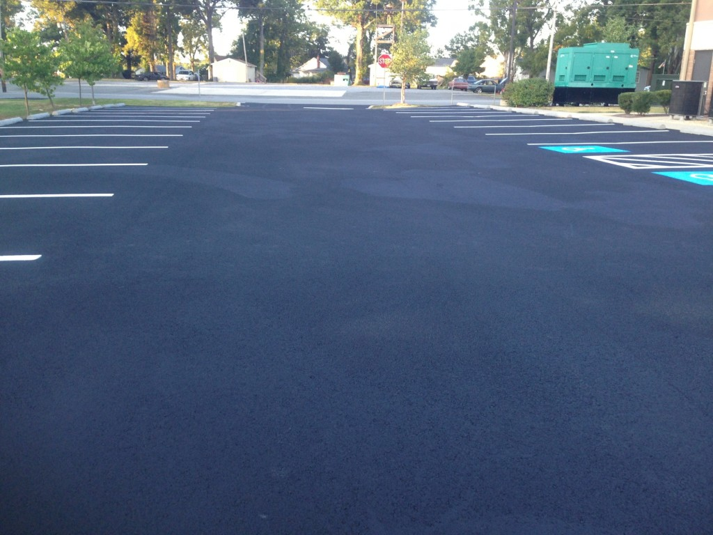 Consider It Done Striping, LLC - Lot with All Potholes Fixed