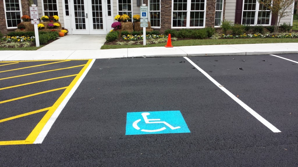 Consider It Done Striping, LLC - Painted Handicap Space