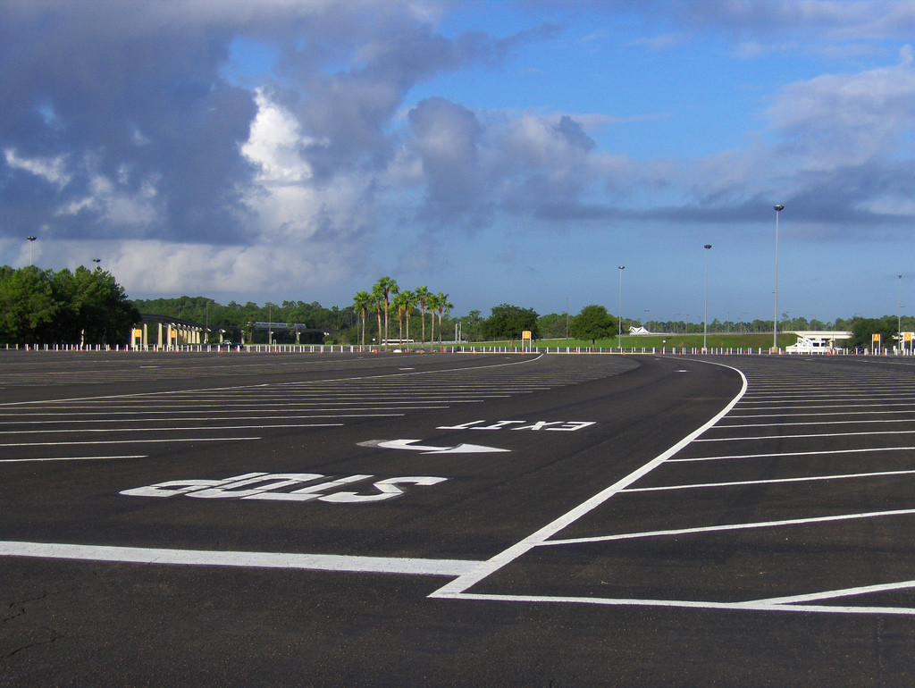 Pacific West Asphalt - Parking Lot