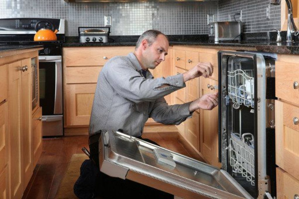 Richard's Appliance Repair - Repairing a Dishwasher