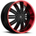 ADM Roll Off -Red lipped rims