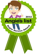 Broughton Appliance Repair - Angie's List Super Service Award 2012