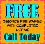 AAA Home Appliance Repair - Service Fee Waived