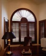 Comfortex Real Wood Plantation Shutters