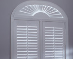 Window-ology - Comfortex Specialty Shape Plantation Shutters