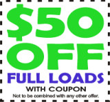 Coupon for 50 off full loads