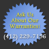 All Appliance Repair - Ask about our warranties!