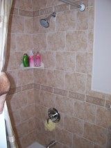 Convenient Kitchen and Bath Design - Tile Work On Shower