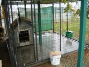 RS Handyman Services - Dog Kennel Concrete Job