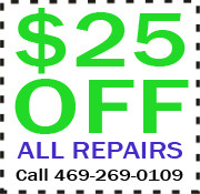 Allstar Garage Door Repair - $25 off all repairs coupon