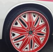 Titan Motoring - Red Rims