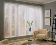 Comfortex Traditional Vertical Blinds