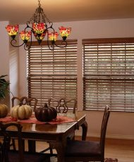 Comfortex Faux Wood Horizontal Blinds
