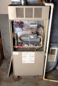 All Appliance Repair - Open furnace