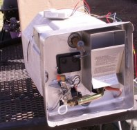 St Jean Heating and Cooling - RV heater before installation