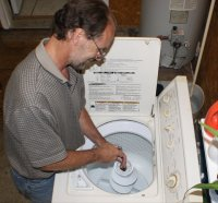 Morgart's Appliance Repair, LLC - Fixing a Washer