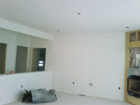 Randymars Contractors - Drywall and Plastering example - in progress - 1