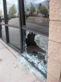 Titan Glass, Inc - Broken Window