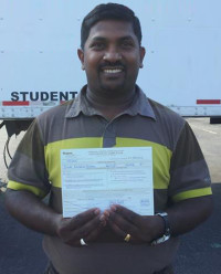 AAA CDL SCHOOL - Student who passed the CDL course