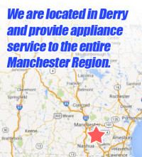 Derry Appliace Repair LLC - Map