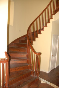 Royal Flooring- Hardwood Stairs