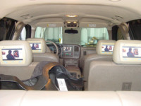Audio House Napa: lcd video monitors installed in a vehicle