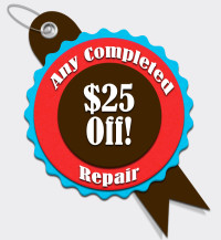 Raynor Appliance Service - $25 off a completed repair