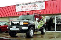 Benchmark Auto Sound - National Guard Hummer Project