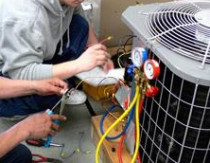 Colonie Mechanical Contractors, Inc. - Testing HVAC Unit