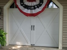 McMurray Garage Doors - Home Garage Doors With Flag