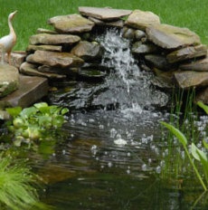 Mark Douglas Lawncare Inc. - Landscaping - waterfall