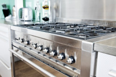 Ralph's Appliance Repair- Stainless Steel Oven