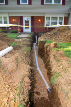 Patriot Plumbing Heating and Air Conditioning, Inc.- Pipe Installation