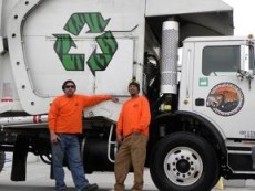 Tiger Sanitation LLC - Recycling Truck